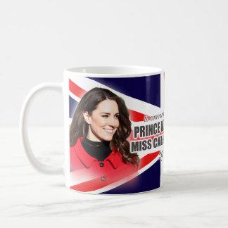 Prinz William u. Kate königliche Hochzeits-Tasse