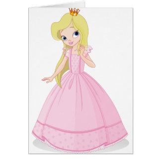 Prinzessin 02 karte