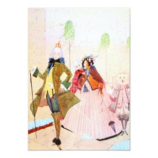 Prinzessin 12,7 X 17,8 Cm Einladungskarte