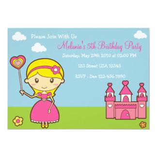 Prinzessin-12x18 Party Einladung 12,7 X 17,8 Cm Einladungskarte