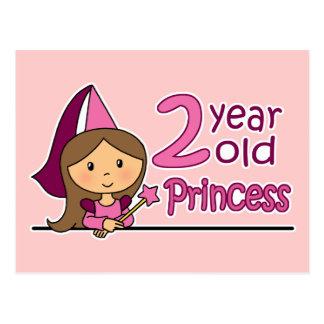 Prinzessin Age 2 Postkarte