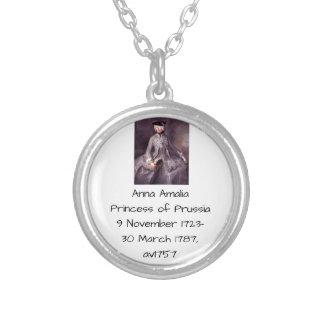 Prinzessin Anna-Amalia von Preußen av1757 Versilberte Kette