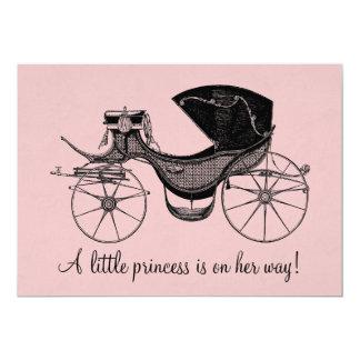 Prinzessin Babyparty 12,7 X 17,8 Cm Einladungskarte