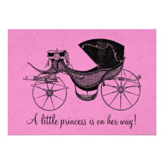 Prinzessin Babyparty Individuelle Einladungskarte