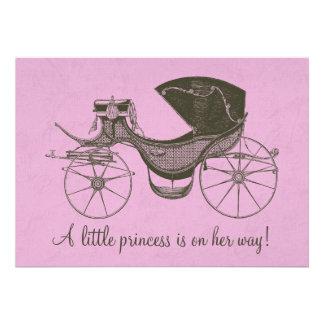 Prinzessin Babyparty Individuelle Ankündigungskarte