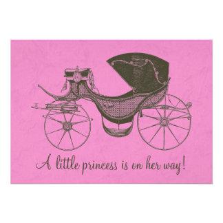 Prinzessin Babyparty Individuelle Einladung