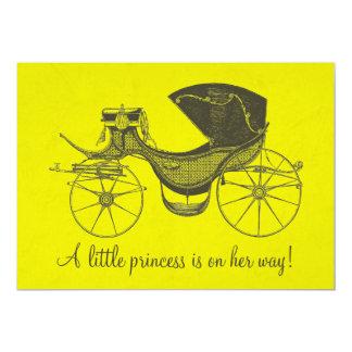 Prinzessin Babyparty Ankündigungskarte