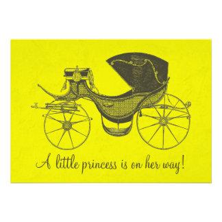 Prinzessin Babyparty Personalisierte Einladungen