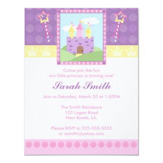 Prinzessin Birthday 10,8 X 14 Cm Einladungskarte