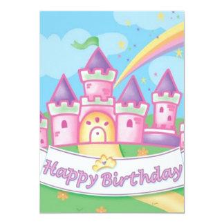 Prinzessin Birthday 12,7 X 17,8 Cm Einladungskarte