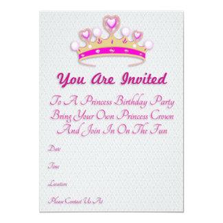 Prinzessin Birthday Invitations 12,7 X 17,8 Cm Einladungskarte
