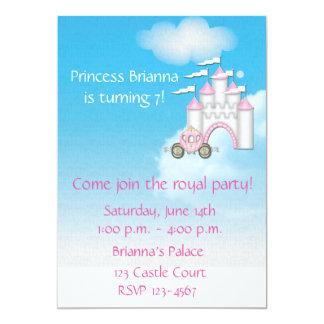 Prinzessin Castle Invitation 12,7 X 17,8 Cm Einladungskarte