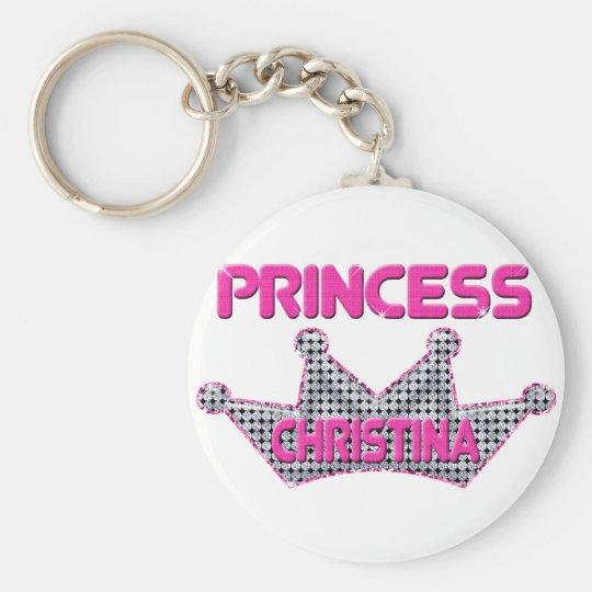 Prinzessin Christina Standard Runder Schlüsselanhänger