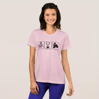 Prinzessin Coffee und Atvs T-Shirt