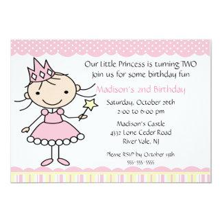 Prinzessin Dance Birthday Invitation 12,7 X 17,8 Cm Einladungskarte