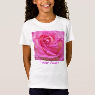 Prinzessin des Monaco-Rosen-Blumen-Power-T-Shirts T-Shirt