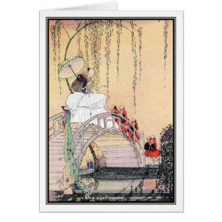 Prinzessin Diaphanie durch Kay Nielsen Karte