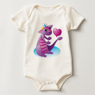 Prinzessin Dragon Baby Strampler