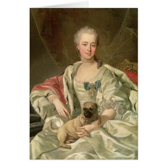 Prinzessin Ekaterina Golitsyna 1759 Karte