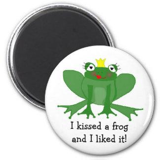Prinzessin Frog Magnet