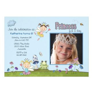 Prinzessin für das TagesFoto-Geburtstags-Party lad
