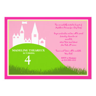 Prinzessin für einen Tag Individuelle Einladung