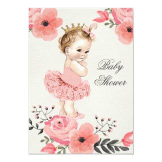 Prinzessin in der 12,7 x 17,8 cm einladungskarte