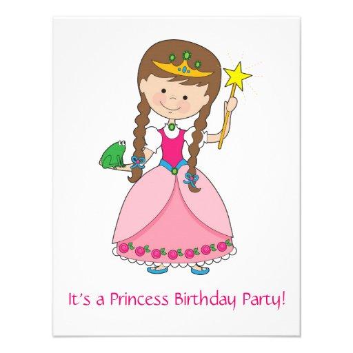 Prinzessin in der Art! Ankündigungskarten