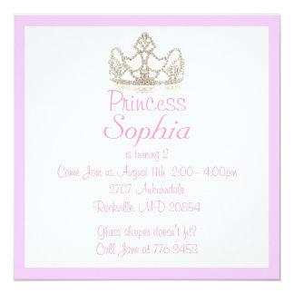 Prinzessin Invitation Quadratische 13,3 Cm Einladungskarte
