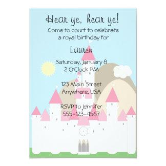 Prinzessin Invitation 12,7 X 17,8 Cm Einladungskarte