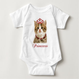 Prinzessin Kitten Girls' Apparel Baby Strampler