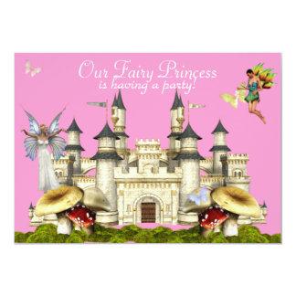 Prinzessin-Märcheneinladung 12,7 X 17,8 Cm Einladungskarte