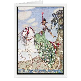 Prinzessin Minon-Minette durch Kay Nielsen Karte