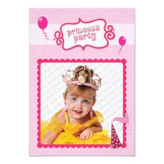 Prinzessin Party 12,7 X 17,8 Cm Einladungskarte