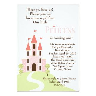 Prinzessin Party Birthday Invitation 12,7 X 17,8 Cm Einladungskarte