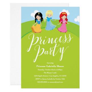 Prinzessin Party Karte
