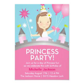 Prinzessin Party - Rosa Ankündigung