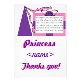 Prinzessin Pink lila Hut-erstes Geburtstags-Party