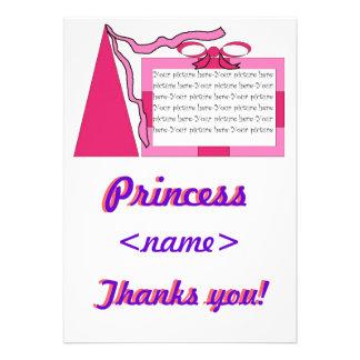 Prinzessin Pink rosa Hut-zweites Geburtstags-Party