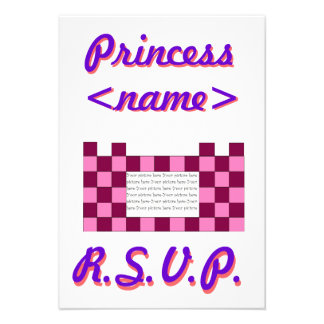Prinzessin Pink rosa Schloss-drittes Geburtstags-P