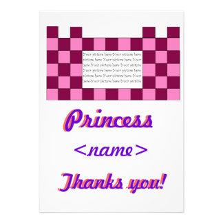 Prinzessin Pink rosa Schloss-erstes Geburtstags-Pa