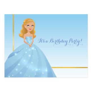 Prinzessin Postcard Postkarte