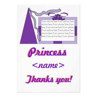 Prinzessin Purple lila Hut drittes Geburtstags-Par