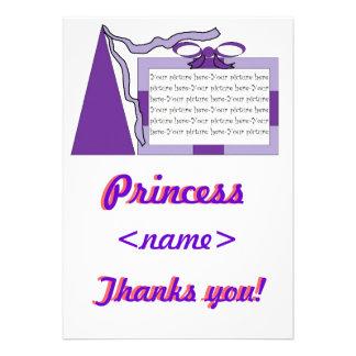 Prinzessin Purple lila Hut-viertes Geburtstags-Par