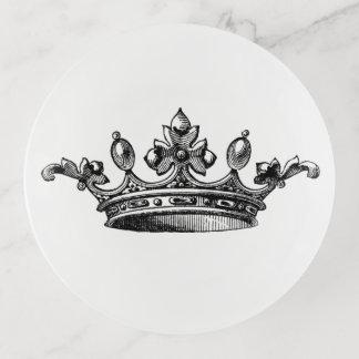 Prinzessin Queen Crown Trinket Tray Dekoschale