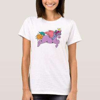 Prinzessin SparkleFarts T-shirt mit Website