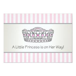 Prinzessin Tiara Pink Prinzessin Babyparty 12,7 X 17,8 Cm Einladungskarte