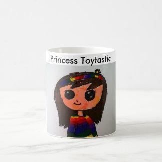 Prinzessin Toytastic 11-Unze-klassische weiße Tasse