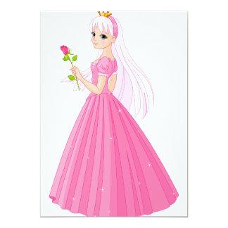 Prinzessin With A Rose Invitations 12,7 X 17,8 Cm Einladungskarte