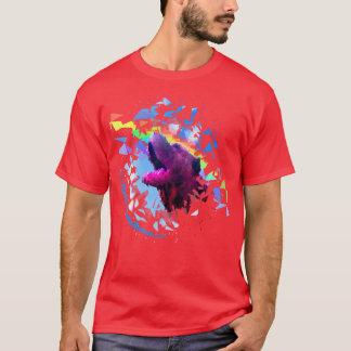 Prisma Pei T-Shirt Rot